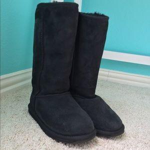 Emu black winter boots